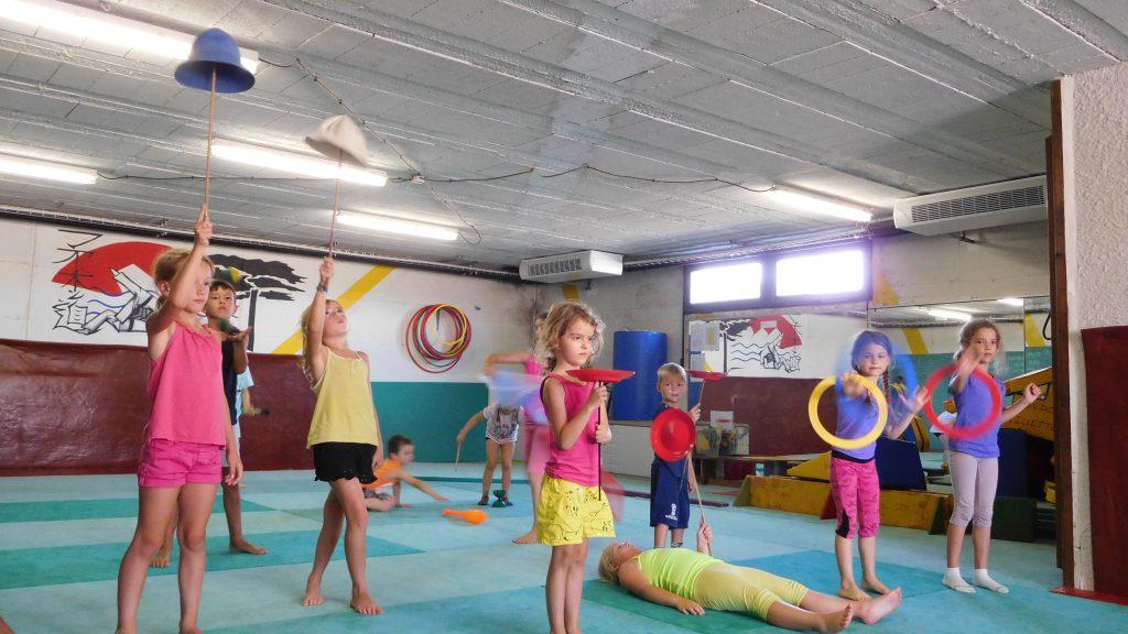 présentation des enfants_ spectacle cirque