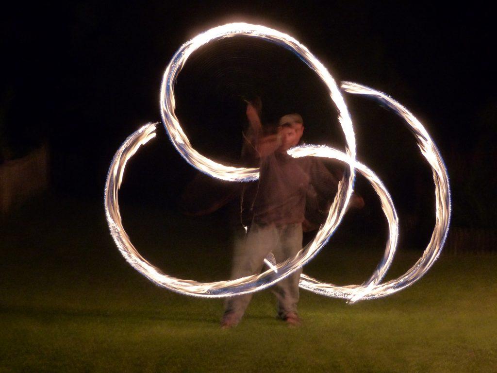 Spectacle feu, festival, évènements