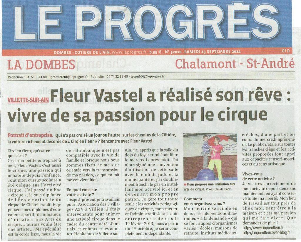 FleuR Vastel créée CiRQen FleuR